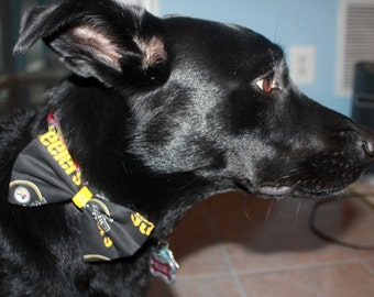 Pittsburgh Steelers Dog Bow/Bow Tie Accessory