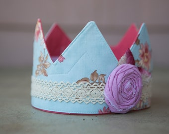 Fabric Crown - Princss Flossie