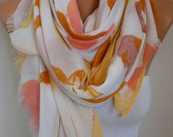 Summer Cotton Scarf,So soft,Shawl Cowl Scarf Bridal Accessories bridesmaid gift Gift Ideas For Her Women's Fashion Accessories,Teacher  Gift