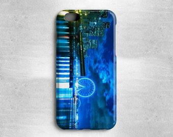 Seattle iPhone X Case - Blue Skyline Case Available for iPhone 8, iPhone 7, iPhone 6S, iPhone 6, iPhone 5s, iPhone 5c, iPhone 5 iPhone 4s