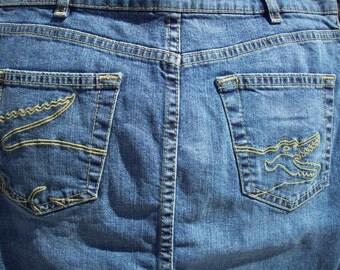 Lacoste Jean Skirt