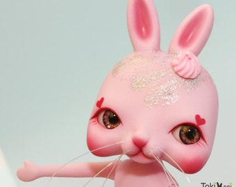 Tokissi / rabbit doll / bunny / sweet / pink / gift