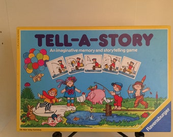 1990 Tell-A-Story by Otto Ravensburger