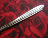 Vintage 1936 American Airlines FLAGSHIP Art Deco Silverplate Fork Aviation Collectible