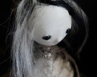OOAK Art Doll - Lunar Garden - Ina