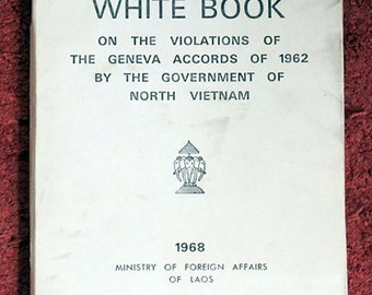 1968 Laos United Nations Mission White Book