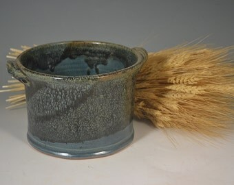 Pottery crock, utensil holder, wine holder, bread baker, all purpose pottery, handmade pottery, pottery, ceramic crock, crock