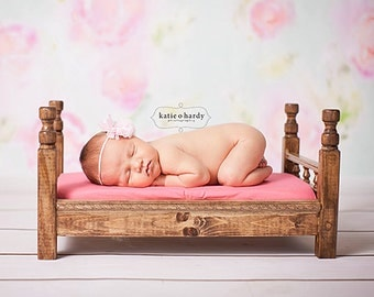 Newborn bed photo prop, toddler photo prop
