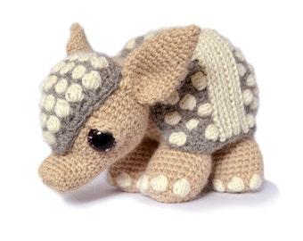 Armadillo Amigurumi Crochet Pattern PDF Instant Download - Tilda