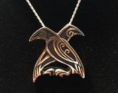 Odin's Ravens Pendant
