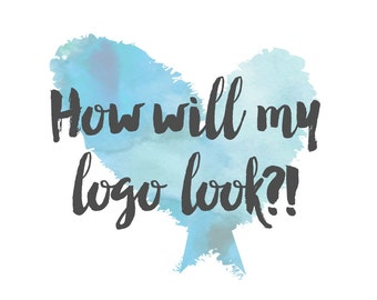 Logo proof - see your name with your preferred logos before you commit!
