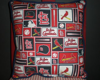 St. Louis Cardinals Baseball Pillows