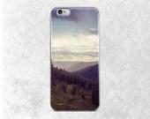 Mountains iPhone 6 Case, Scenic Phone Case, Nature iPhone Cover, Rocky Mountain iPhone 6 Case, Yellowstone Phone Case, Mountain Range