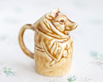 Small Milk Pitcher or Jug - Antique porcelain