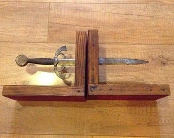 Sword Bookends Man Cave Gift