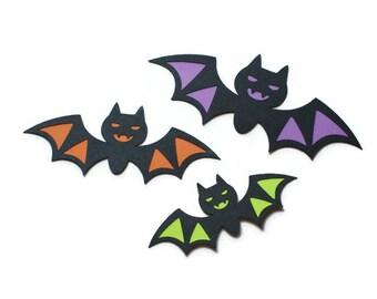 Bat die cuts - 4 dies (2 in.) - you choose your colors (C104)