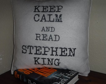 Stephen King Fan Pillow Cover