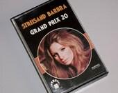 1970s Vintage Music Cassette Tape: Grand Prix 20 by Barbra Streisand.