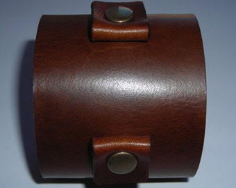 leather cuff wristband bracelet Johnny Depp style