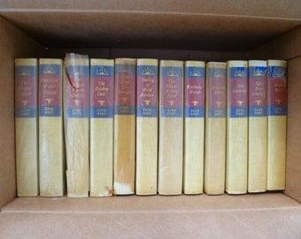 Zane Grey, set of 12 books, nearly perfect!