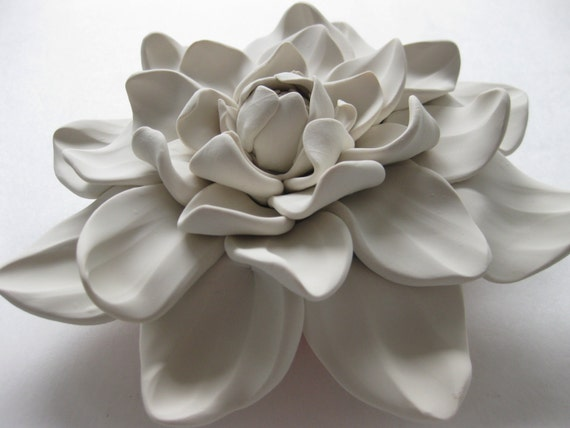 Clematis Wall Flower Art Sculpture