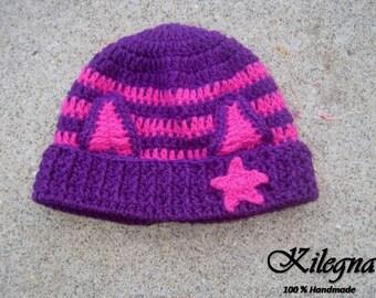 Little Charmers Inspired Hazel Hat girl beanie