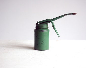 vintage english wesco oil can