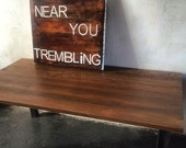 "Industrial custom table ""Owen"" made in dtla"