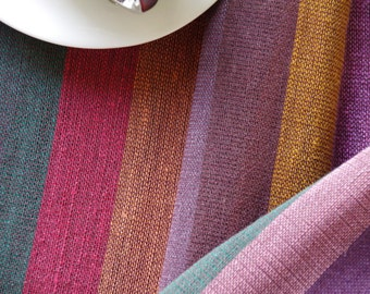 Table Runner - Colourful stripes OOAK