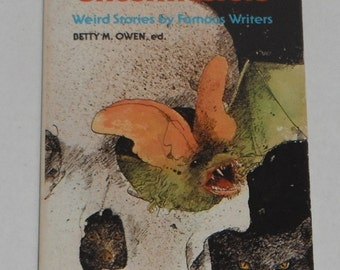 The Ghostmasters Weird Stories by Famous Writers Betty M Owen ed. vintage Scholastic Book 1976
