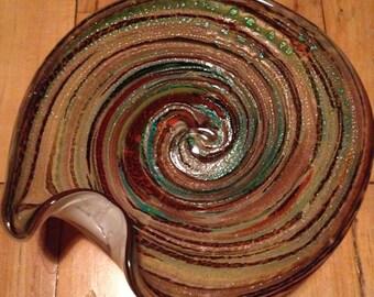 murano dish bowl