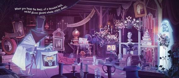 Haunted Mansion Disneyland Art