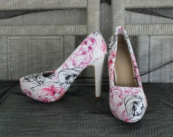 Disney Princess Themed Heels
