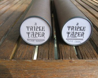 Faroy Mid Century Triple Taper Candles
