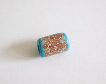 Polymer Clay Dread Bead, 6.5 mm hole