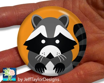 Raccoon Pocket Mirror
