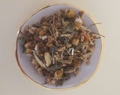 Herbal Tea / Infusion 'Unravel' - deeply soothing & calming relief from aches, pains and restlessness