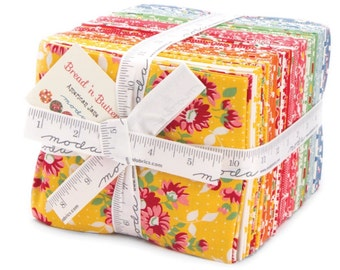 Bread n butter cotton fat quarter bundle by American Jane for Moda fabric