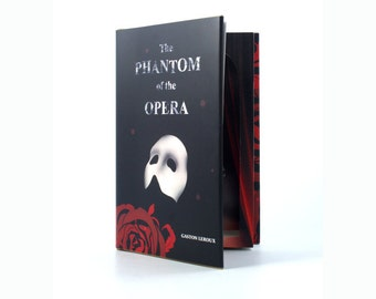 Phantom of the Opera - Hollow Book Safe Secret Storage