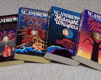 4 V C Andrews Books - Cutler Series