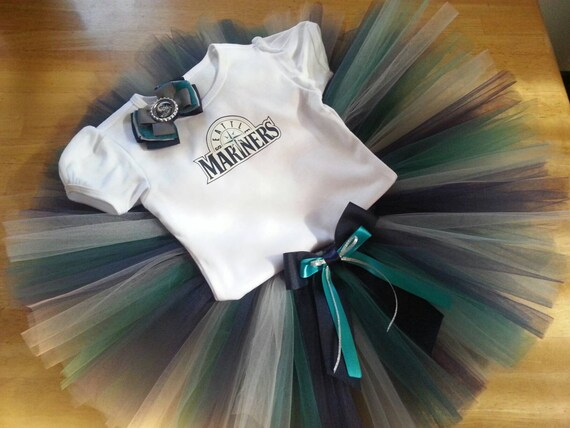 Seattle Mariners inspired tutu outfit