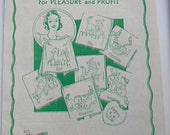 Aunt Martha's WorkBasket Volume 6 c1941 magazine