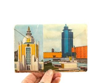 1933 and 1934 Chicago World's Fair Souvenir - Post Card Set