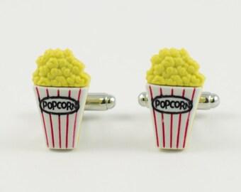 Popcorn Cufflinks