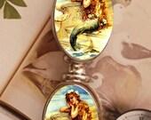 Mermaid Dreaming Fantasy Ocean Sea Silver Metal Letter Opener Home Office Trendy Cool