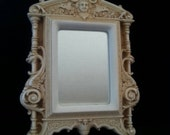 NOW ON SALE Beautiful Vintage French Mystical Wall Hanging Dragon & Cameo Mirror Victorian Home Decor Replica 1880 1800's