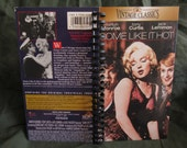 Some Like It Hot VHS notebook