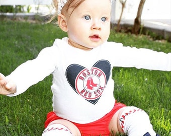 Boston Red Sox Game Day Outfit