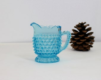 Mini Hobnail Cream Pitcher by Doyle Glass Co