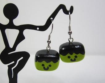 Frankenstein's Monster Earrings